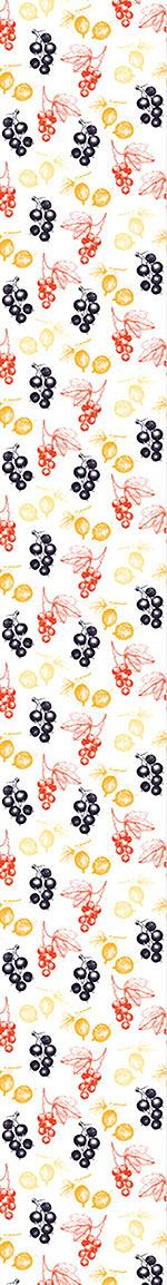Pattern Wallpaper Red And Black Currant