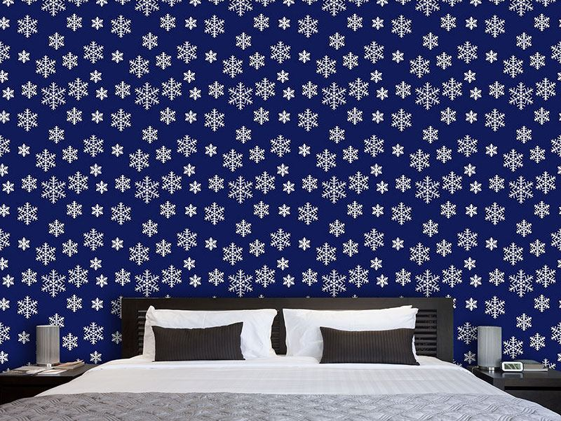 Pattern Wallpaper Winter Wonder