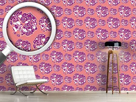Pattern Wallpaper Hortensia