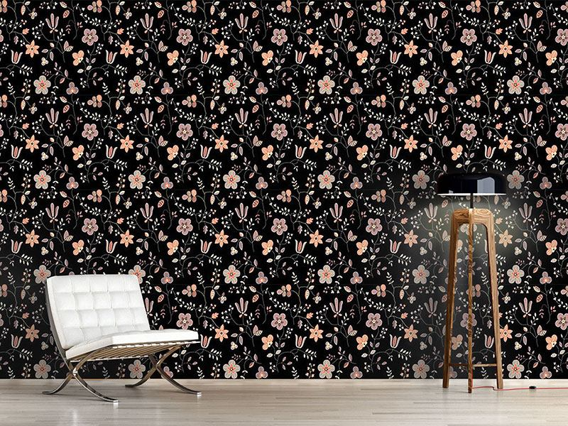 Pattern Wallpaper Fairy Wood At Night