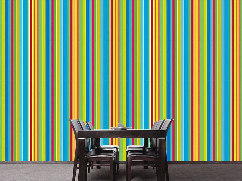 Papier peint design Fresh Stripes