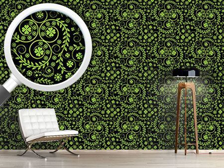 Pattern Wallpaper Shamrock