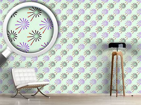 Pattern Wallpaper Fantasy Of Chives