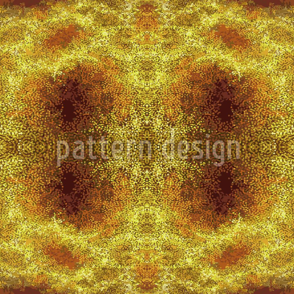Pattern Wallpaper Desert Gold