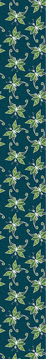 Papier peint design Butterflies On Foliage