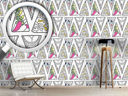 Pattern Wallpaper Triangle Expression