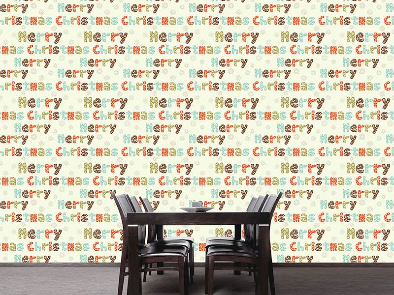 Papier peint design Christmas Again