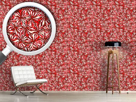 Pattern Wallpaper Floral Splendor