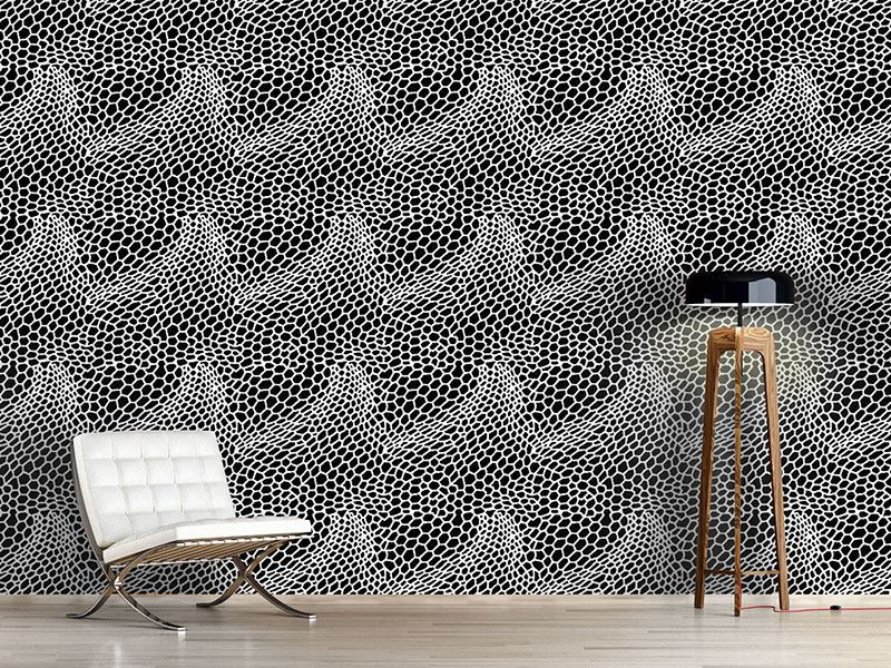 Pattern Wallpaper Snakeskin