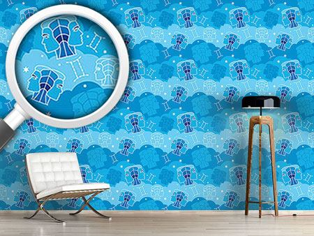 Pattern Wallpaper Born In Gemini Sign