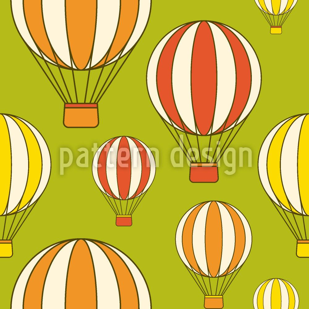 Carta da parati Ballooning in the Green