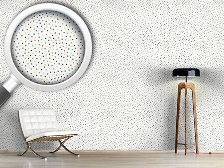 Pattern Wallpaper Confetti Dots