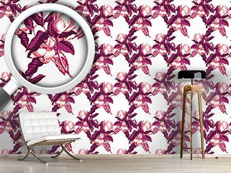 Pattern Wallpaper Magnolia Opulence