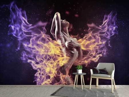 Photo Wallpaper play with the fire