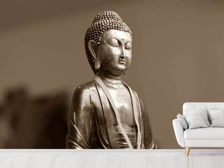 Photo Wallpaper Buddha in meditation XL