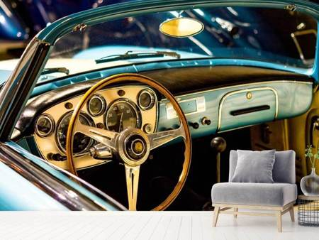 Photo Wallpaper Oldtimer interior