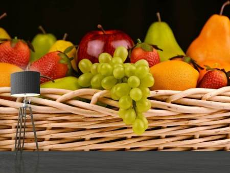 Photo Wallpaper XL fruit basket