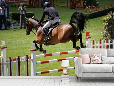Photo Wallpaper The show jumper