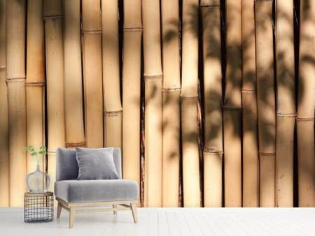Photo Wallpaper Natural bamboo