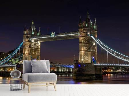 Photo Wallpaper Neo-Gothic Tower Bridge