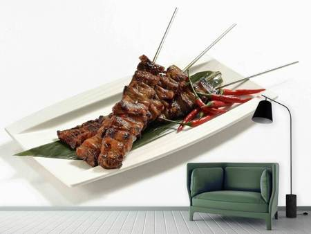 Photo Wallpaper Asian kebab