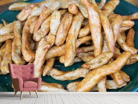 Photo Wallpaper French fries