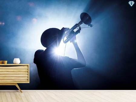 Photo Wallpaper Trumpet Player