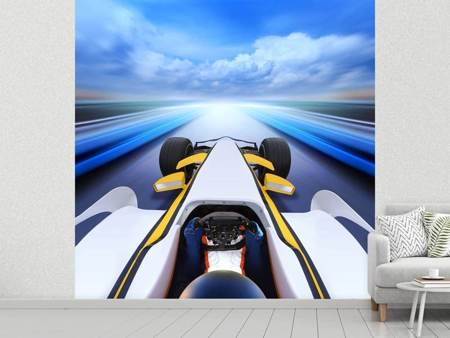 Photo Wallpaper In Racecar