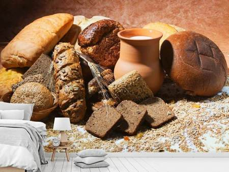 Photo Wallpaper Breakfast Breads