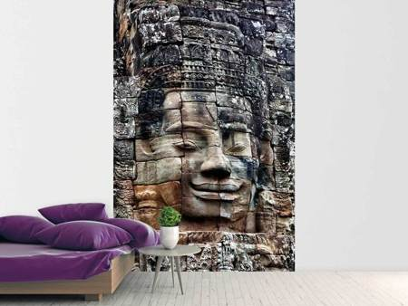 Photo Wallpaper Buddha Angkor Thom
