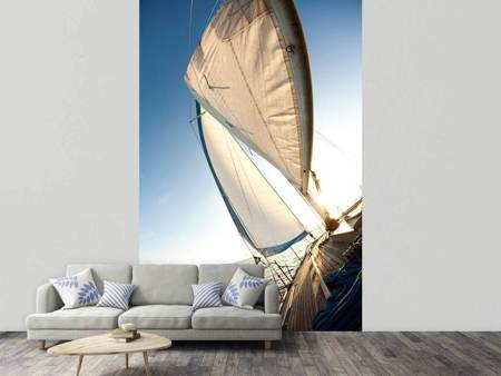 Photo Wallpaper Sailing