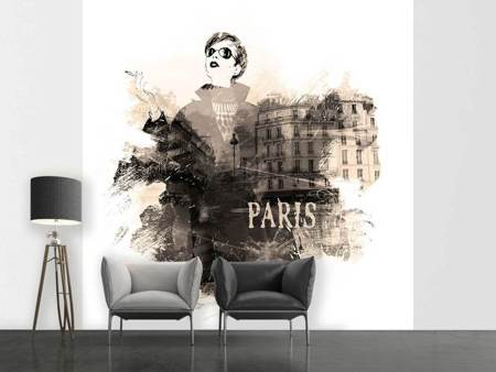 Photo Wallpaper Paris Model